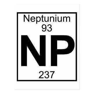 Elemento 093 - NP - Neptunio (lleno) Postales