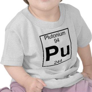 Elemento 094 - PU - Plutonio (lleno) Camisetas