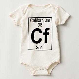 Elemento 098 - Cf - californio (lleno) Trajes De Bebé