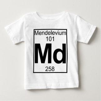 Elemento 101 - Md - Mendelevio (lleno) Playera Para Bebé