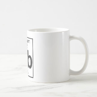 Elemento 105 - DB - Dubnium (lleno) Taza De Café