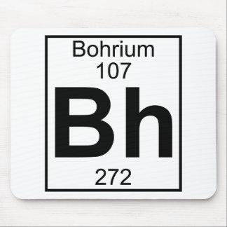 Elemento 107 - BH - Bohrium (lleno) Mouse Pad