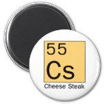 Elemento 55: Filete del queso Iman De Frigorífico