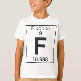 Elemento   9 - f (flúor) polera
