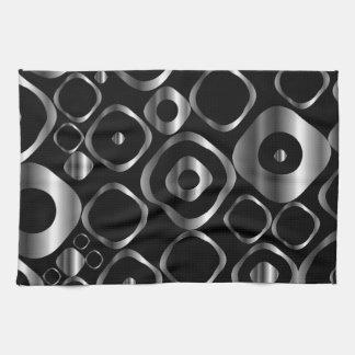 Elemento decorativo del diseño con los anillos de  toallas