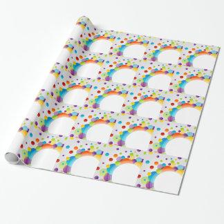 Elemento decorativo del diseño papel de regalo