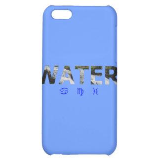 Elemento del agua con las muestras del zodiaco