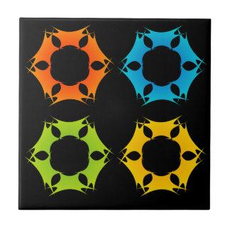 Elemento del diseño del fractal azulejo cuadrado pequeño