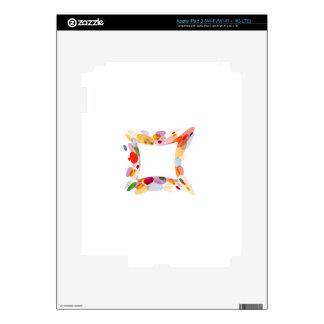 Elemento del diseño del fractal pegatina skin para iPad 3