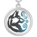 Elemento del lobo tribal - viento colgantes personalizados