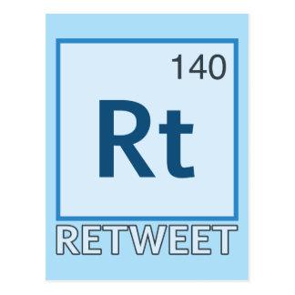Elemento del RT 140/Retweet Postales