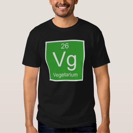 Elemento del Vg Vegetarium Playeras