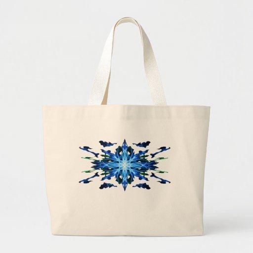 Elemento enérgico del agua de la geometría - extra bolsa de mano