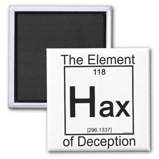 Elemento HAX Imán Para Frigorifico