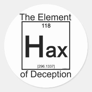 Elemento HAX Pegatina