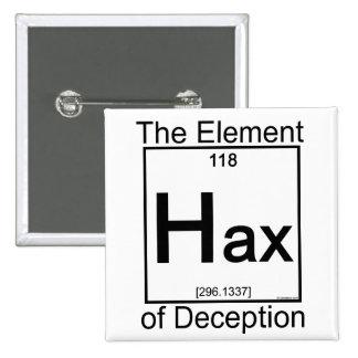 Elemento HAX Pin Cuadrado