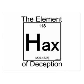 Elemento HAX Tarjetas Postales