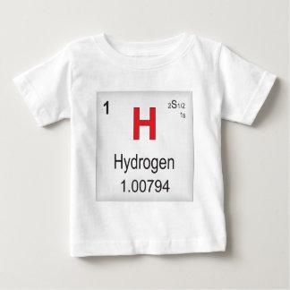 Elemento individual del hidrógeno de la tabla playeras