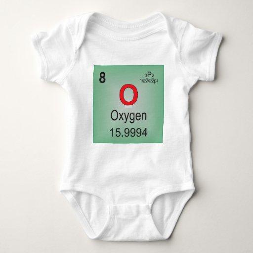 Elemento individual del oxígeno de la tabla body para bebé
