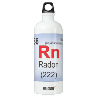 Elemento individual del radón de la tabla
