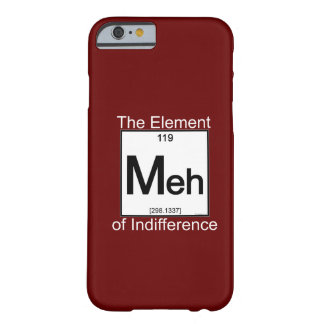 Elemento MEH Funda De iPhone 6 Barely There
