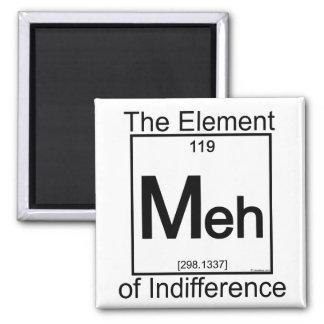 Elemento MEH Imán Cuadrado