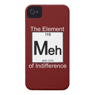 Elemento MEH iPhone 4 Carcasas