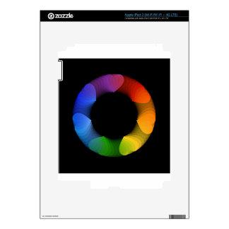 Elemento o bandera del diseño del corazón pegatinas skins para iPad 3