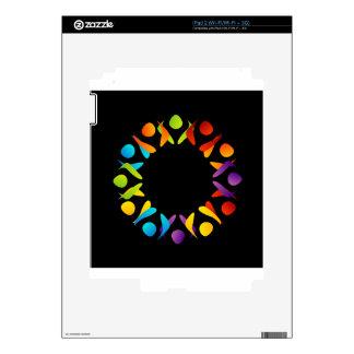 Elemento o bandera del diseño del fractal iPad 2 calcomanía