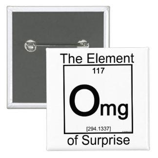 Elemento OMG Pin Cuadrado