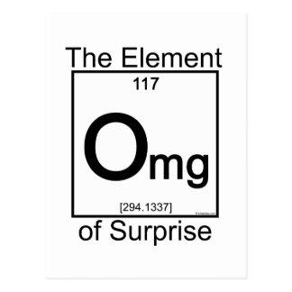 Elemento OMG Tarjetas Postales
