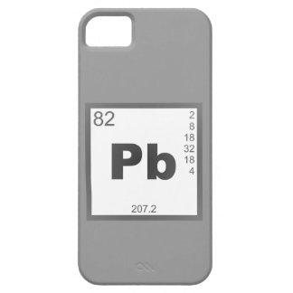 Elemento plomo lead iPhone 5 Case-Mate protectores