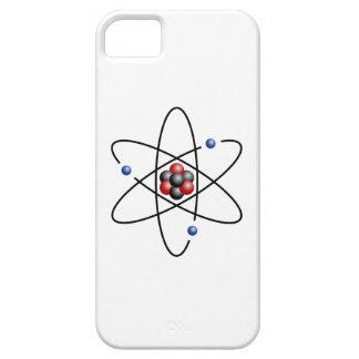 Elemento químico número atómico 3 del átomo del funda para iPhone SE/5/5s