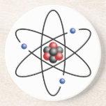 Elemento químico número atómico 3 del átomo del li posavasos personalizados