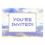 Elemento Skyscape del AIRE Invitacion Personalizada
