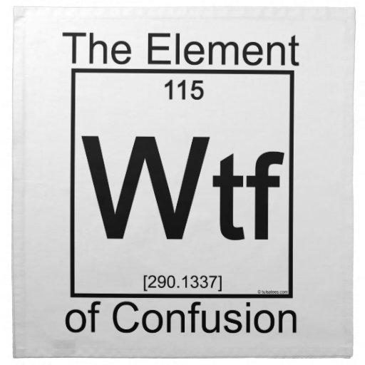 Elemento WTF Servilleta De Papel