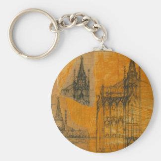 Elementos arquitectónicos: Iglesia gótica Llaveros