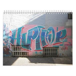 Elementos de la cultura de Hip Hop Calendarios