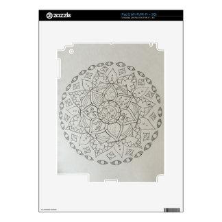 elementos de la mandala iPad 2 skins