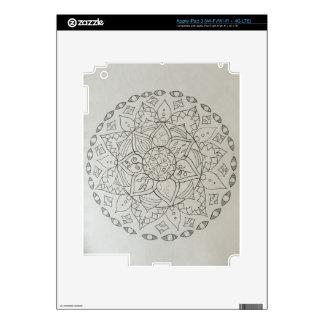 elementos de la mandala iPad 3 skins