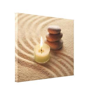 Elementos de la meditación impresión en lienzo estirada