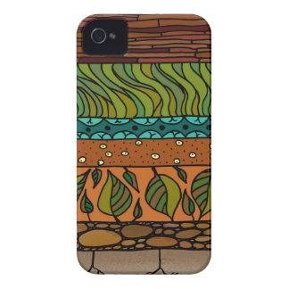 Elementos de la tierra iPhone 4 fundas