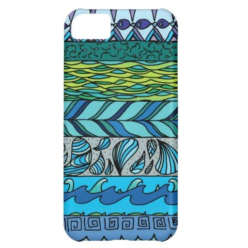 Elementos del agua funda para iPhone 5C