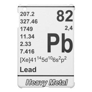 Elementos del caso de metales pesados del iPad