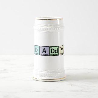 Elementos del papá taza de café