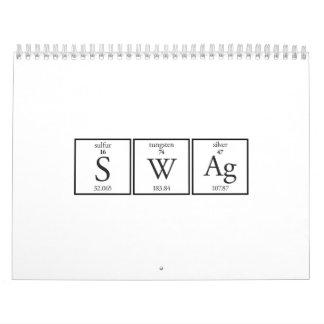 Elementos del Swag Calendario