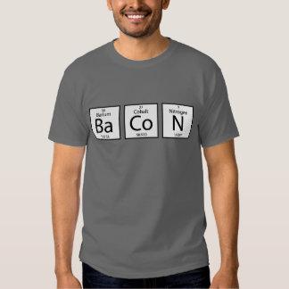 Elementos del tocino camisas