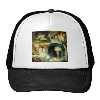 Elementos - ejemplo digital abstracto gorras de camionero