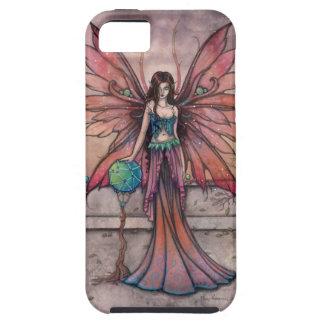 Elementos en arte de hadas gótico de la fantasía iPhone 5 Case-Mate protectores
