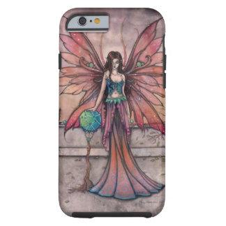Elementos en arte de hadas gótico de la fantasía funda de iPhone 6 tough